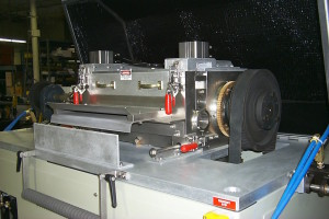 AX series side view of Eccentric style rotor