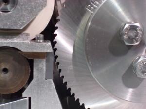 Close up of Micro Pellet rotor