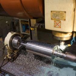 Rotor Being machined