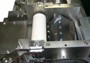 Top view Lab PULTRUSION Pelletizers Cutting chamber